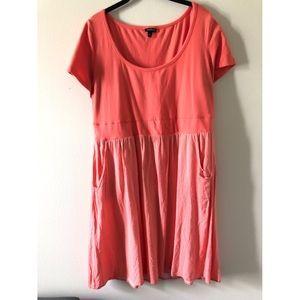 torrid   Skater dress   Empire waist   Pink   2X